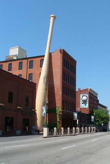 Photo of Louisville Slugger museum
