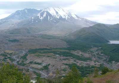 Photo of Mount Saint Helens