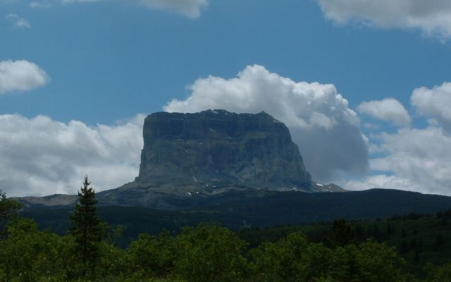 photo of Chief Mountain