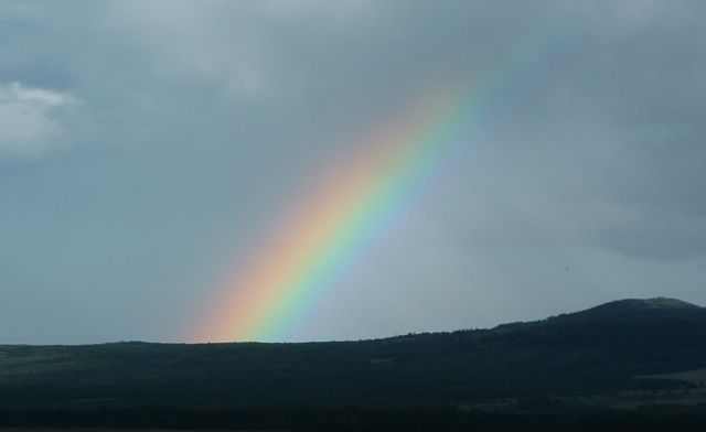 photo of a rainbow