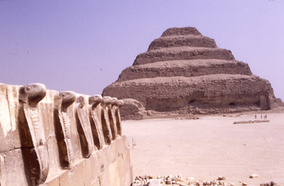 Photo of the Step Pyramid at Djoser