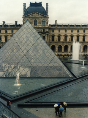 Essay on the louvre