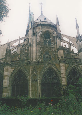 Photo of the Notre Dame Catherdral