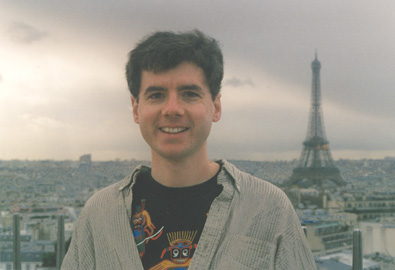 Photo of John on top of the Arc de Triomphe