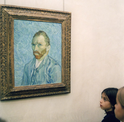 Photo of Van Gogh self portrait