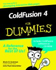 ColdFusion 4 For Dummies book cover - click here to order the book