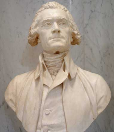 Bust of Jefferson
