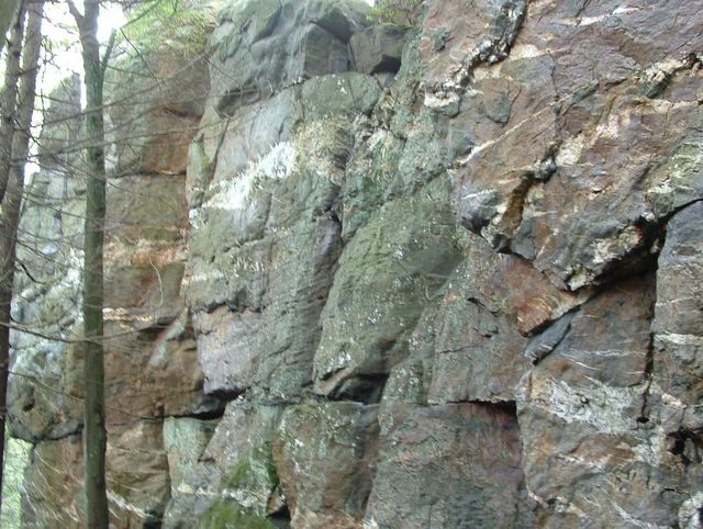 photo of rock wall on the Appalachian Trail, Pennsylvania