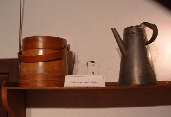 photo of shaker teapot, Shaker Village of Pleasant Hill, Kentucky