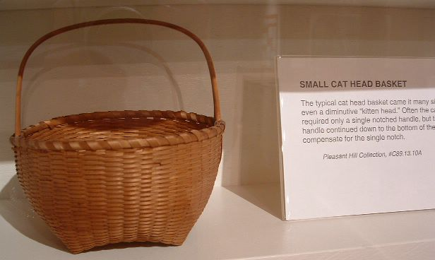 picture of shaker cat head basket