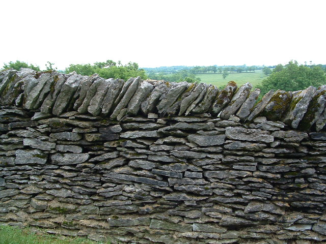 picture of a stone fence, Shaker Village of Pleasant Hill