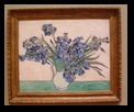 Vincent Van Gogh's Irises at the Metropolitan Museum of Art, New York City