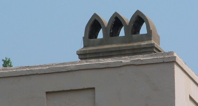 photo of a chimney in historic Charelston, SC