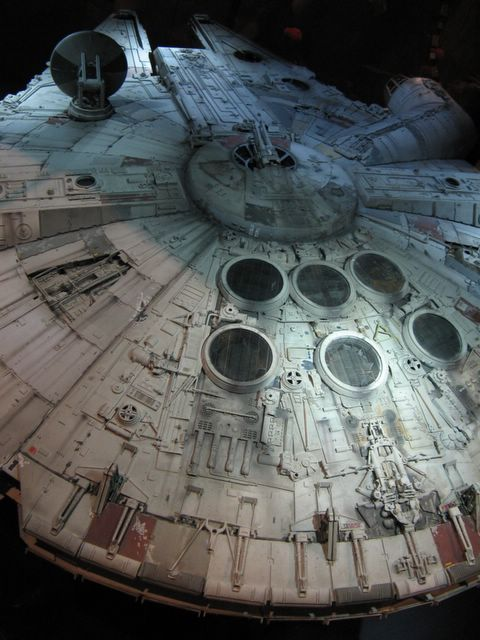 Photo of Millenium Falcon model, Star Wars