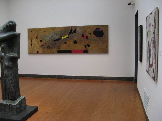 Photo of painting by Miro