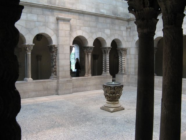 Courtyard in the Cloisters
