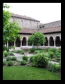 Outdoor Courtyard at the Cloisters