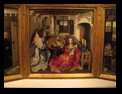 The Annunciation Triptych by Robert Campin and Assistanm ca 1425, The Cloisters, MET, New York City