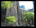 Saint Patrick's Cathedral near Rockefeller Center, NYC