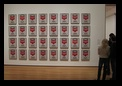 Campbell's Soup Cans. 1962, Andy Warhol, Museum of Modern Art, New York City